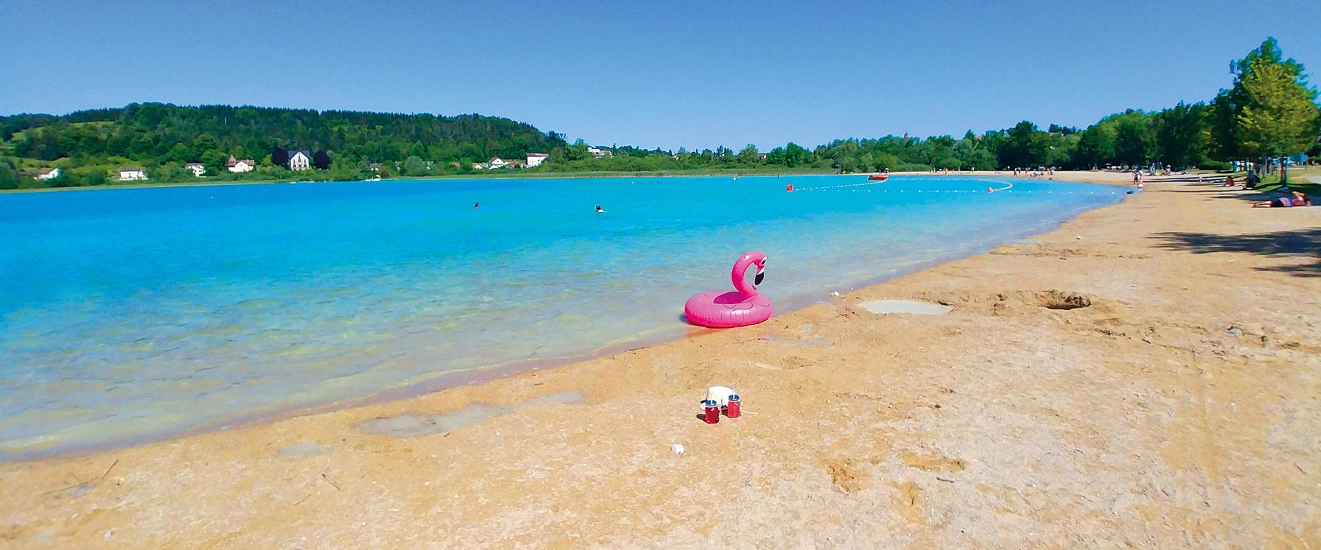 Camping lac jura 3 etoiles avec piscine clairvaux - Camping lac aiguebelette avec piscine ...